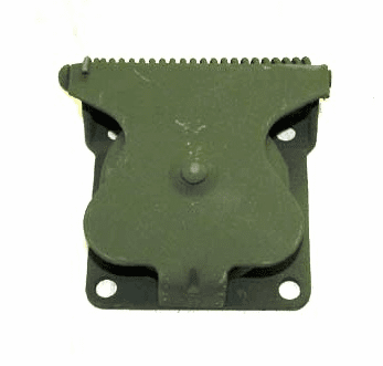 7731428 Flange Mount Military Trailer Receptacle Cover Assembly, M715 Kaiser Jeep 4x4 Models