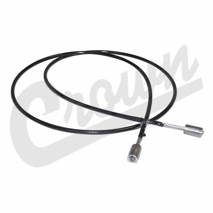 """J5361280 Brake Cable, 37"""" Long, 1980-1991 Jeep SJ & J-Series with Auto Trans & 4.2L engine"""