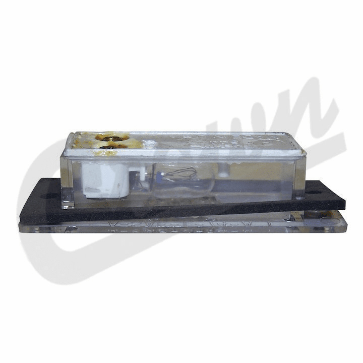 J3670544 License Plate Lamp for 1981-1991 Jeep Wagoneer, Grand Wagoneer