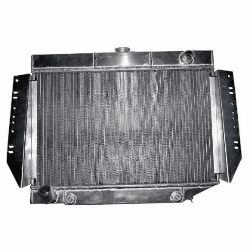 581AA3R Aluminum Radiator, 3 Row for 1980-1987 Jeep Cherokee, Grand Wagoneer, J10, J20 Series