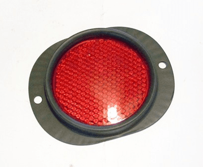 MS35387-1 Reflector with Red Lens for Kaiser Jeep M715 Truck