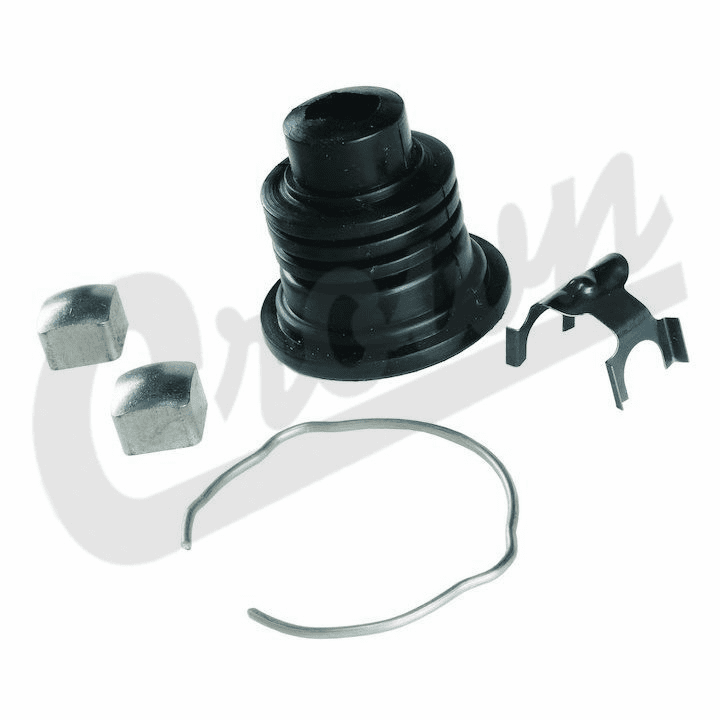 8132676K Steering Lower Shaft Boot Kit, 1976-1986 Jeep Wagoneer, Cherokee SJ, J-Series Truck