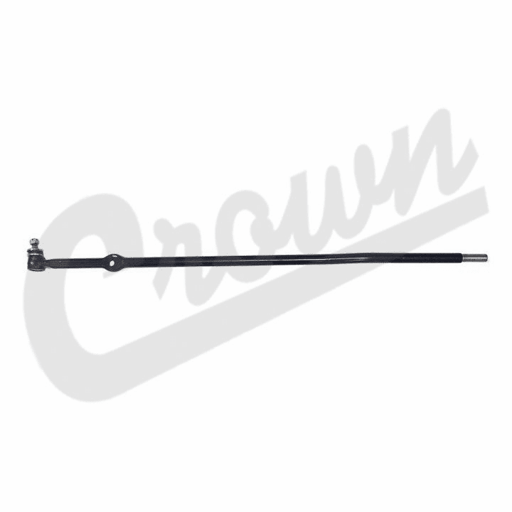 "J8124816 Tie Rod End, Long End At Right Knuckle, 46-1/2"" long, 1974-1991 Jeep Grand Wagoneer, Cherokee SJ"