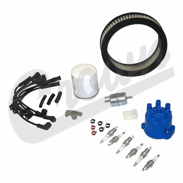 TK32 Tune Up Kit, 1987-1990 Jeep Grand Wagoneer, J-Series Truck, 4.2L Engine