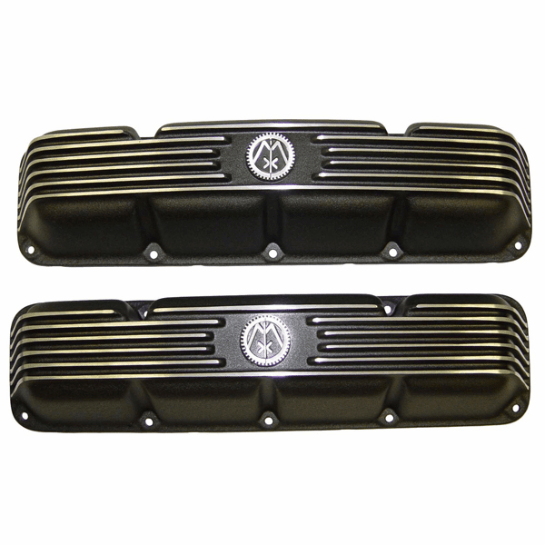 6910 Valve Cover Kit, 1966-1991 AMC V8� 304, 360, & 401 Aluminum Valve Cover Set w/ Hardware