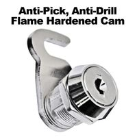 Anti Pick Anti Drill Flame Hardened Lock