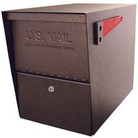 Bronze Column Package Mailbox