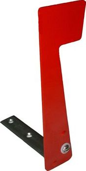 Front and Rear Locking Column Mailbox Flag