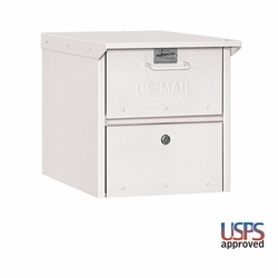 Front and Rear Opening Column insert Medium White