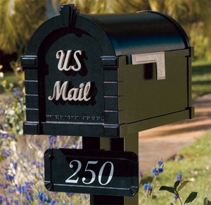 Keystone Signature Series Mailbox Address Plaque