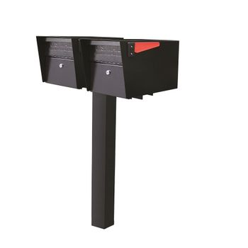 Mail Boss High Security Locking Double Mailbox