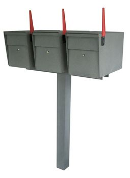 Mail Boss High Security Locking Triple Mailbox