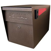 Mail Boss Triple Mailbox Bronze