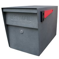 Mail Boss Triple Mailbox Granite
