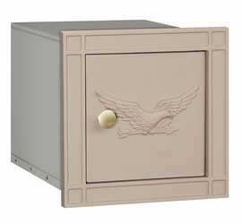Non Locking Mailbox Column Insert Beige Eagle