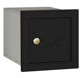 Non Locking Mailbox Column Insert Black Eagle