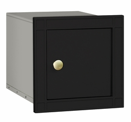 Non Locking Mailbox Column Insert Black Plain