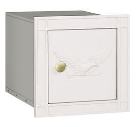Non Locking Mailbox Column Insert White Eagle