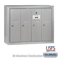 Surface Mount Vertical Apartment Mailboxes