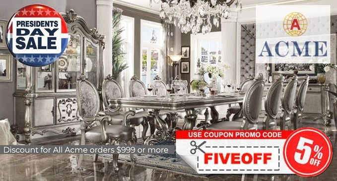 Acme Furniture Presidents' Day Sale Promotion