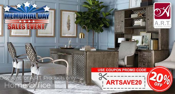 A.R.T. Home Office Furniture SALE Save an additional 20% OFF!