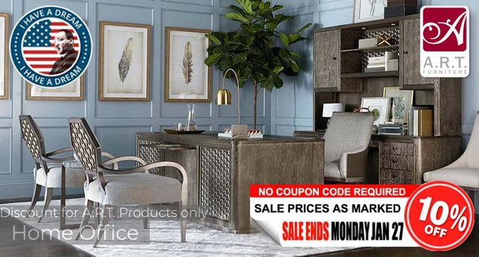 A.R.T. Home Office Furniture SALE Save an additional 10% OFF!