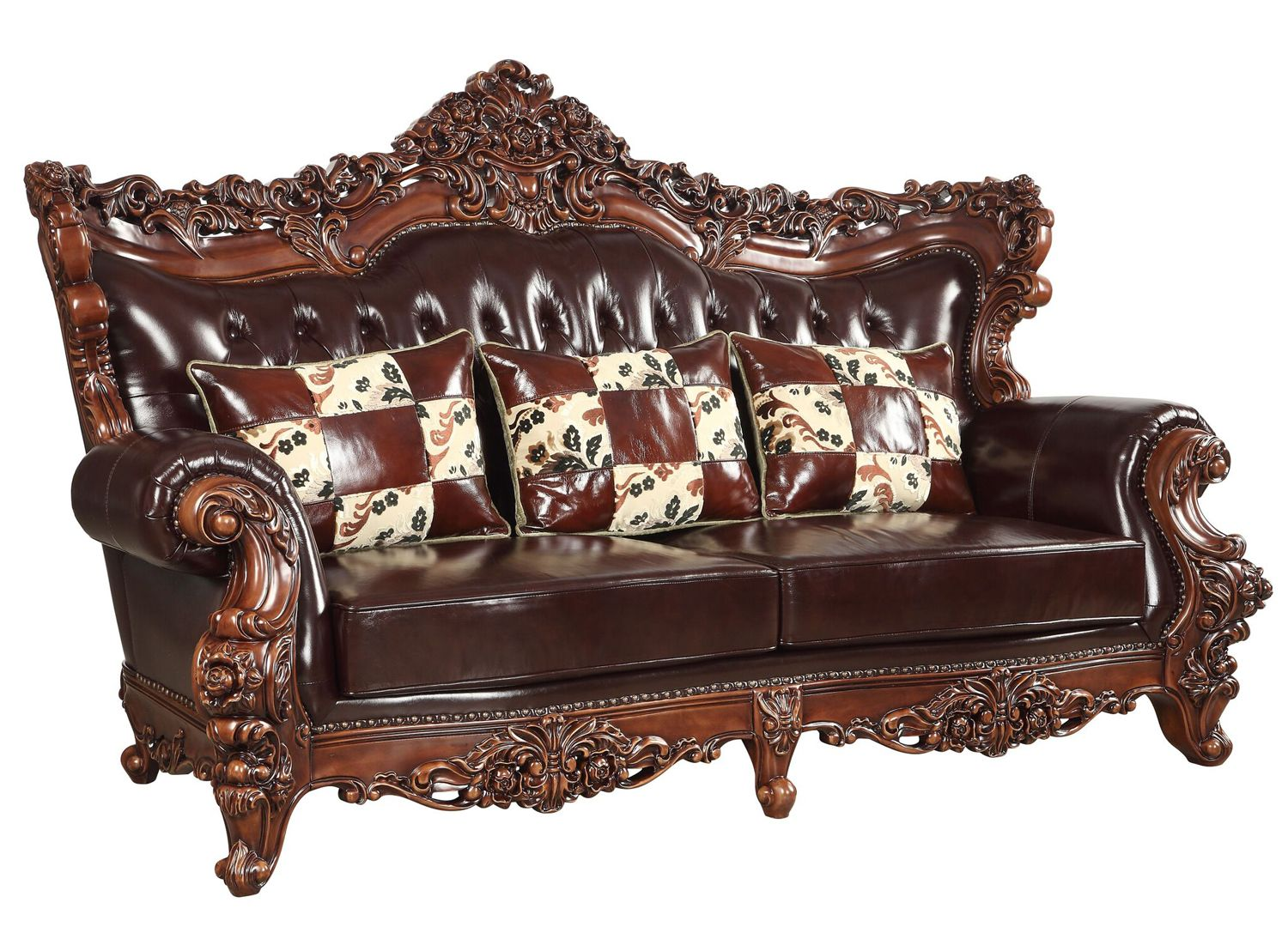 Tufted Leather Sofas Amp Furniture Shop Factory Direct
