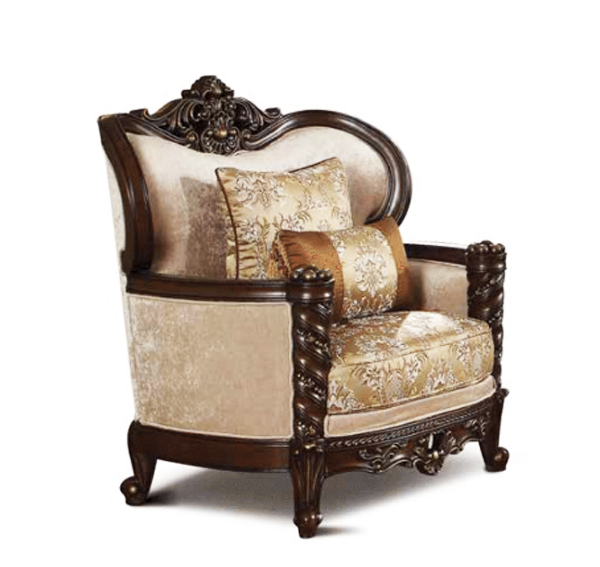 Traditional Style Living Room Furniture: Victorian Antique Style Luxury Living Room Furniture Sofa Set