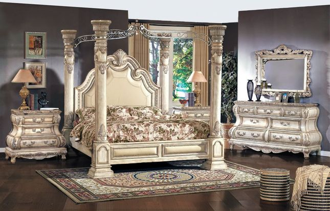 Victorian Canopy Bed Four Poster Bedroom Sets Shop Factory Direct