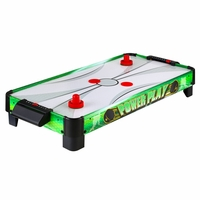 Carmelli Power Play 40-in Portable Electric Table Top Air Hockey Game
