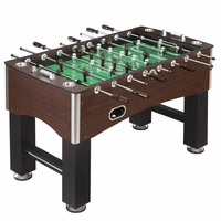 Carmelli Primo 56-in Foosball Soccer Table with 4 Stainless Steel Drink Holders