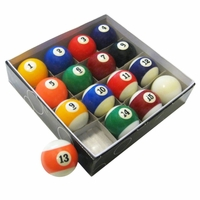 Carmelli Regulation Pool Table Premium Blended Poly-Resin Billiard Balls Set
