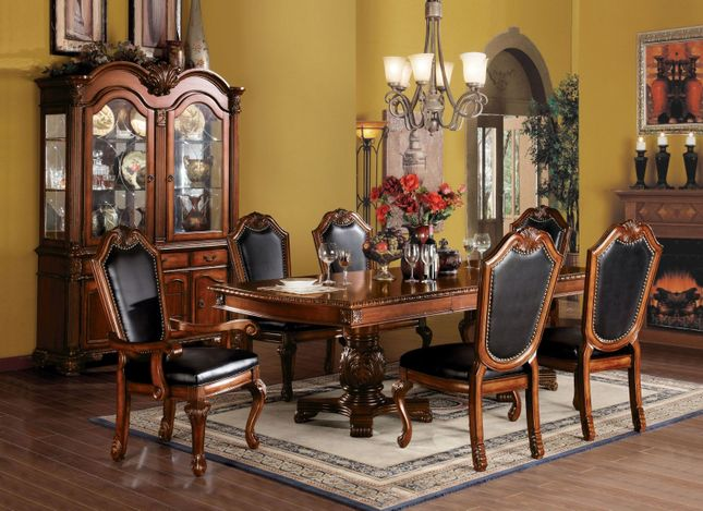 Chateau II Traditional Cherry Formal Dining Room Furniture ...