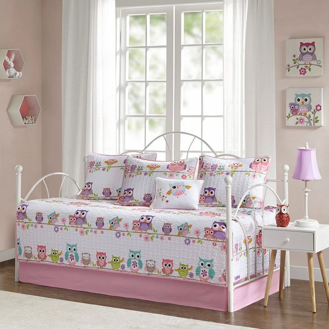 Daybed Size Wise Wendy 6 Piece Reversible Daybed Set Cotton Pink Mi Zone Kids