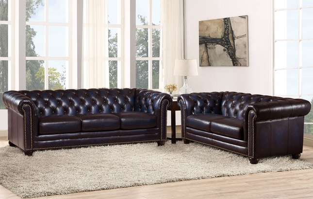 Fabulous Dynasty 100 Genuine Leather Chesterfield Sofa Loveseat In Andrewgaddart Wooden Chair Designs For Living Room Andrewgaddartcom