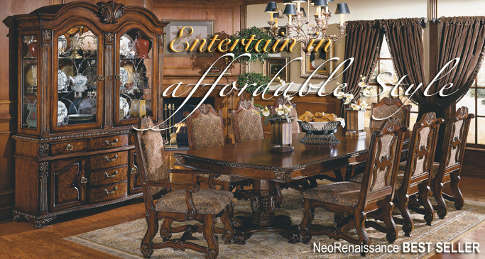Formal Dining Entertain in Affordable Style