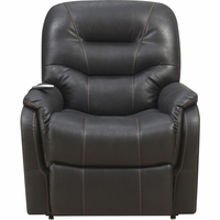 Badlands Eclipse Heat & Massage Reclining Lift Chair in Black Performance Fabric Finish