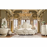 Homey Design Luxurious Traditional Bedroom Furniture Collections