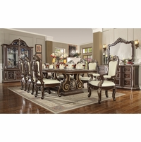 Homey Design Traditional Luxury Dining Room Furniture