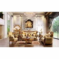 Homey Design Traditional Luxury Living Room Furniture
