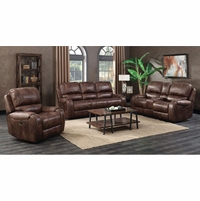 Jennings Power Reclining Sofa&Loveseat Set / Optional Recliner Chair in Brown