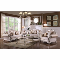Traditional living room furniture Italian Luxurious Traditional Living Room Furniture Sofa Set Exposed Wood Platinum Finish Timetravellerco Victorian Inspired Formal Living Room Sets