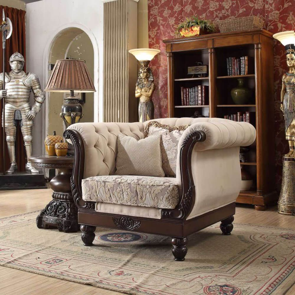 Luxurious Traditional Style Formal Living Room Furniture ...