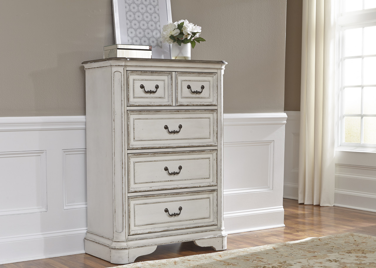 Image Is Loading Magnolia Traditional 4 Drawer Kids Bedroom Chest In