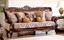 Opulent Traditional Luxury Button Tufted Formal Living Room Sofa Set