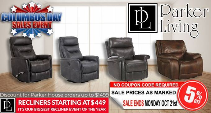 Parker House Furniture Recliner Sale