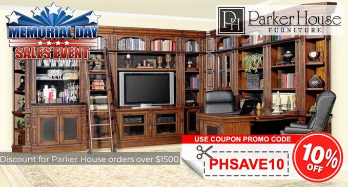 Parker House Furniture Sale Additional 10% OFF on orders $1500+