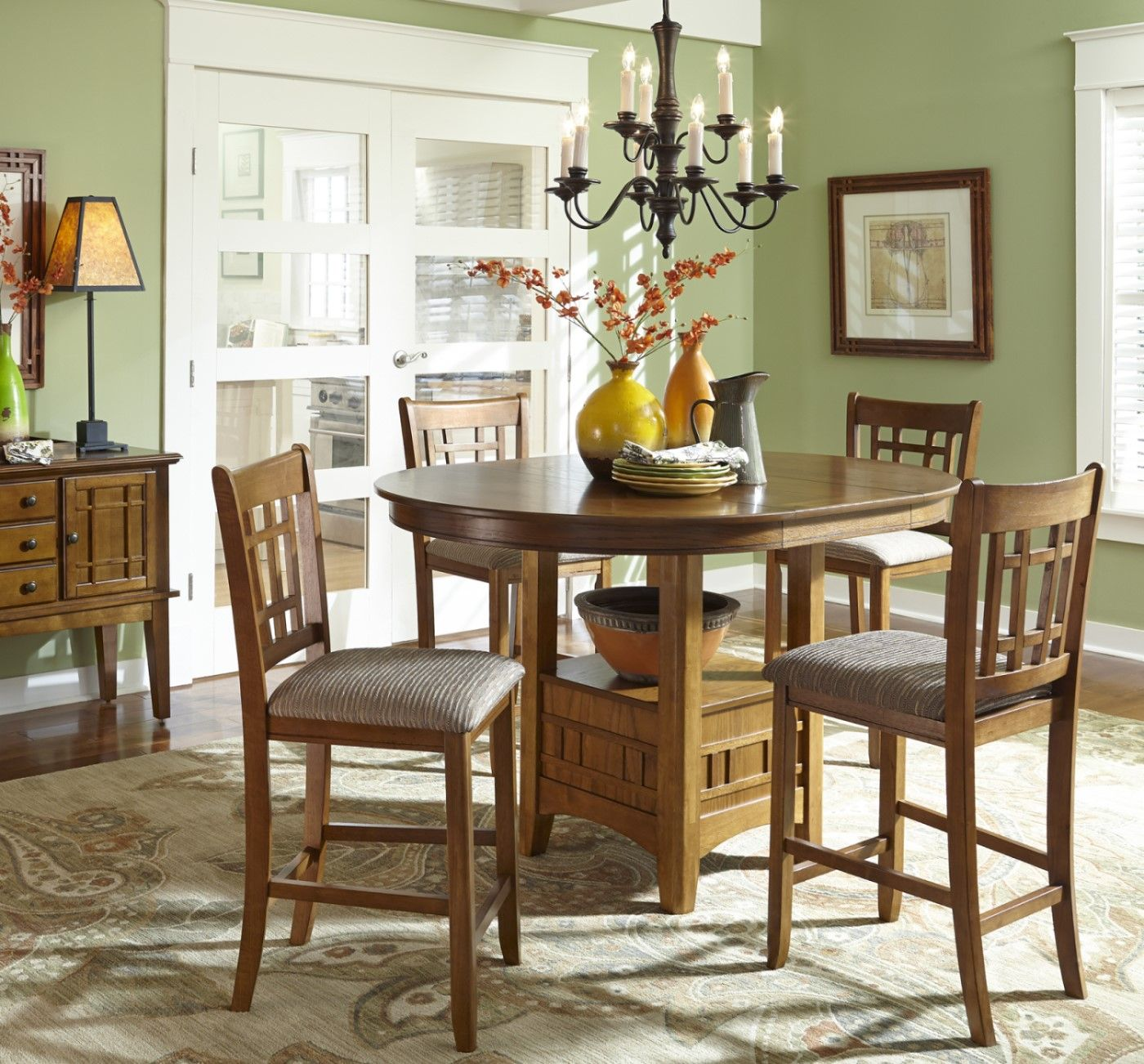 Mission Style Dining Room: Dining Room Pub Table Sets