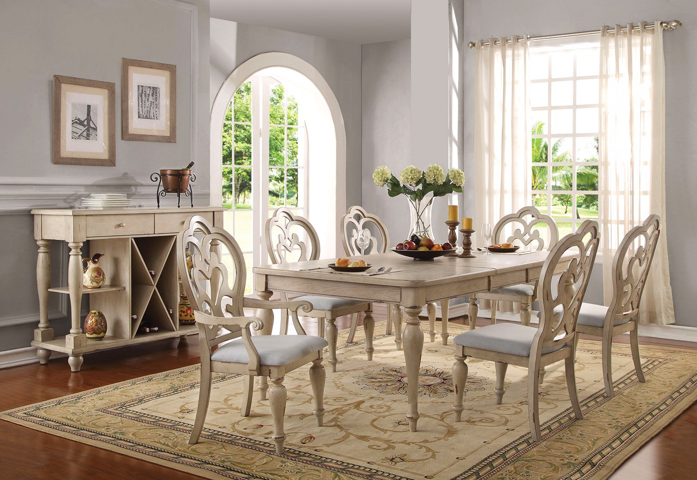 Absolon French Country Dining Room Set, French Country Dining Room Table