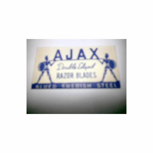 "AJAX ""Blued Swedish Steel"""
